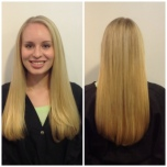 Blonde Highlights on long hair